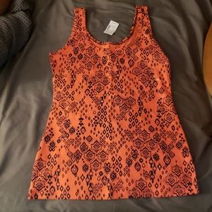 Maurices patterned tank top NWT